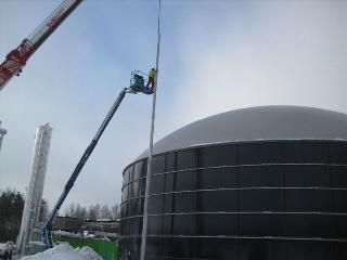 Blitzschutz Biogasanlagen